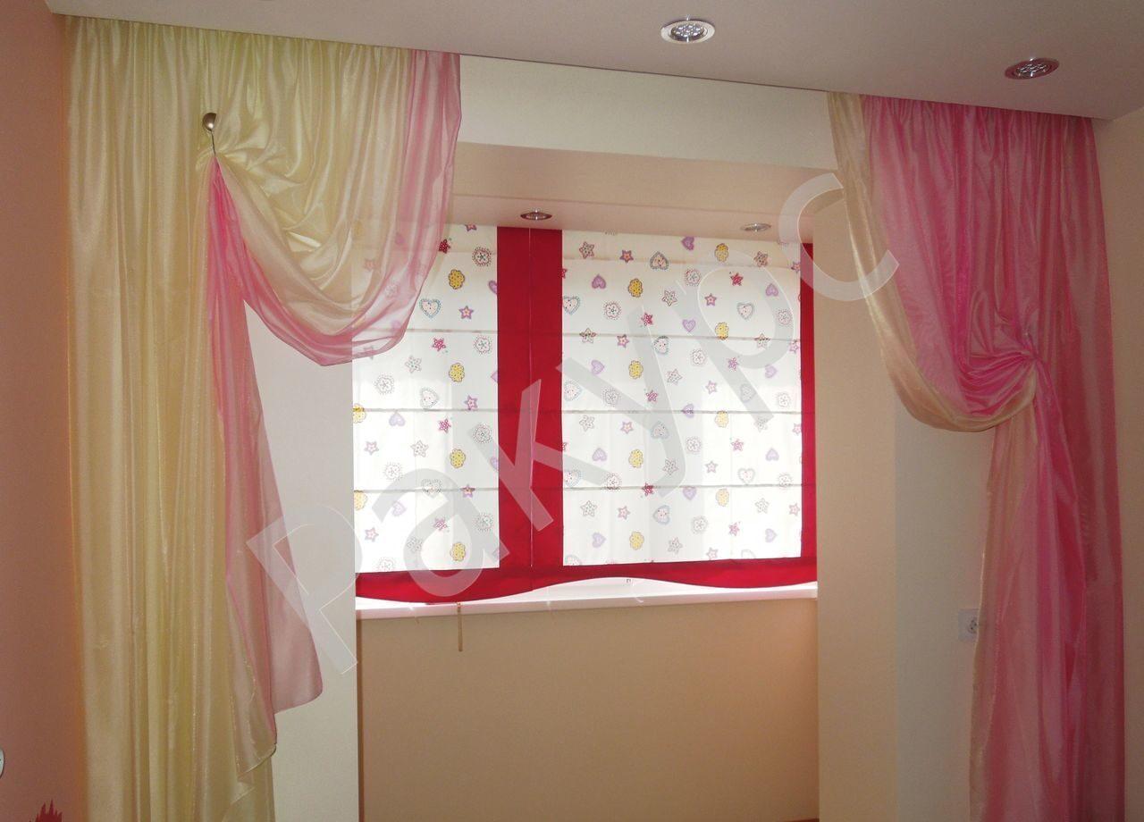 Римские шторы своими руками в детскую комнату 19