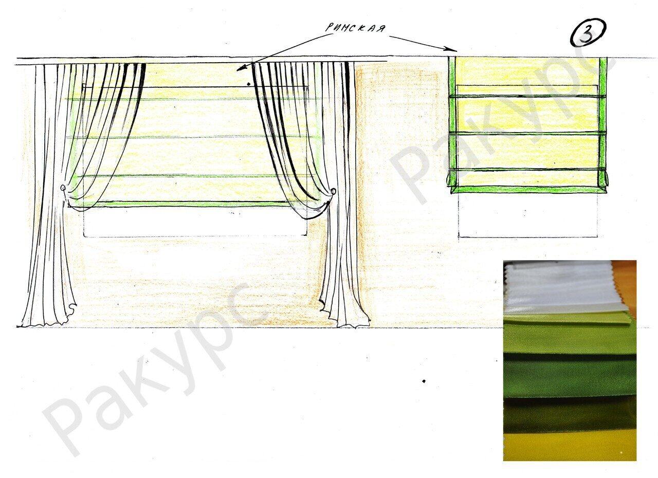 Римские шторы своими руками за 1 вечер: мастер-класс (фото) 36